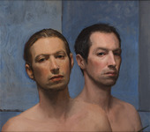 Double Self Portrait 7 Years Apart